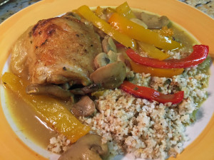 Coconut Curry Chicken Thigh Bake_individual serving edited